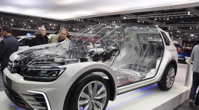 VW gewährte spannende Einblicke in den neuen Tiguan.