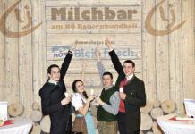Die Bezirksgruppe Dobersberg und die Ortsgruppe Vitis der NÖ Landjugend hatten die Betreuung der Milchbar übernommen und freuten sich auf den neugestalteten Auftritt.