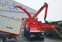 Der Biber Power Truck erstmals im Einsatz