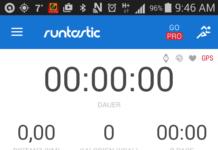 Die App Runtastic macht Trainingserfolge messbar.