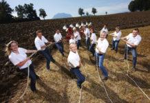 """Das Ziel des neuen """"Maschinenring-Clusters zur Förderung der agrarischen Kooperation"""" ist"""