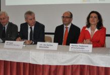 Informierten über die Messe Brünn und den tschechischen Wirtschaftsstandort: Peter Kukacka