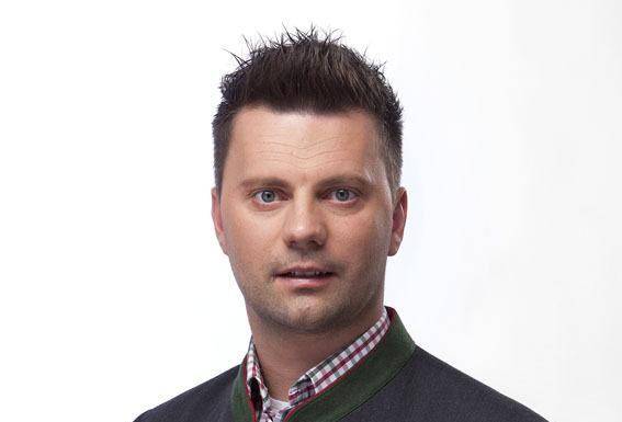 Bürgermeisterkandidat Bernhard Webhofer.