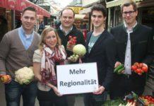Jungbauernschaft und Aktionsgemeinschaft setzen auf mehr Regionalität in den Mensen.