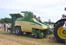Krone zeigte in Ungarn die auf der Agritechnica ausgezeichnete mobile Pelletiermaschine Premos erstmals im praktischen Einsatz.