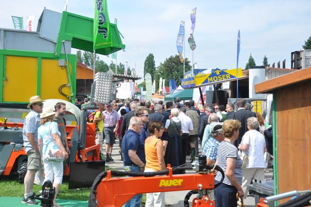 Die Wieselburger Messe Inter Agrar Lädt Zum Besuch Ein Bauernzeitung