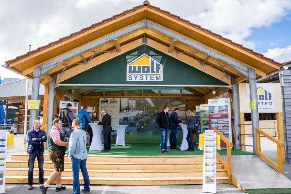 Großer Andrang bei Wolf-Jubiläumsfest - Bauernzeitung