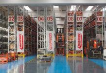 Das Maschio-Ersatzteillager mit mehr als 5200 Artikeln gewährleistet eine schnelle Erledigung der Bestellungen.