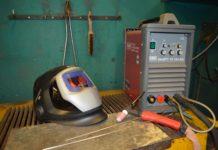 Ein Arbeitsplatz mit  WIG-Schweißgerät