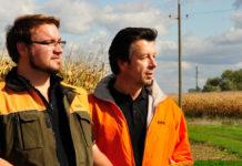 Die KWS-Berater informieren zu den Maishybriden.