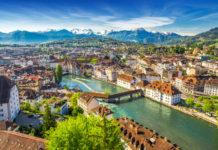 Schweiz und die oberitalienischen Seen