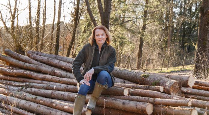 Simone Schmiedtbauer kämpft gegen den Klimawandel