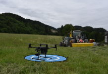 Modernste Technik rettet Rehkitze in Tirol vor dem Motormäher.