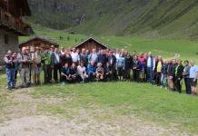 Zahlreiche Vertreter der Agrarpolitik nahmen an der Europawanderung teil.