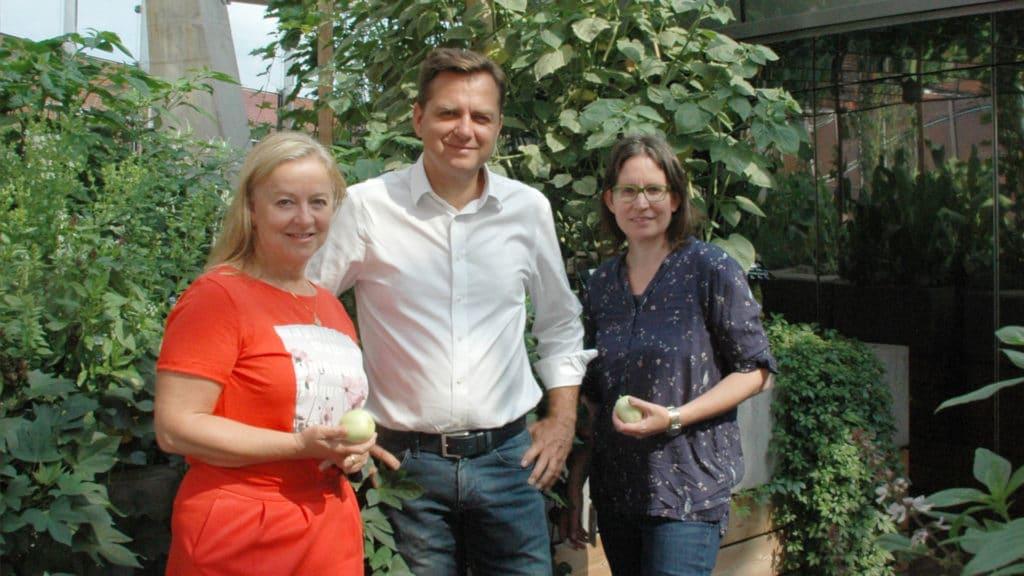Das Projektteam von Joanneum Research: Sabine Marx, Franz Prettenthaler und Sabrina Dreisiebner-Lanz.