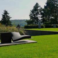 Moderner Garten Plan