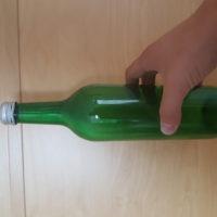 0,75 Liter Glas Flasche