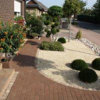 Garten Mit Kies Modern